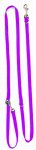 Altranet hondenlijn Multi-Function 180 x 2,5 cm linnen paars