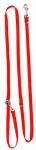 Altranet hondenlijn Multi-Function 180 x 2,5 cm linnen rood