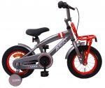 AMIGO Transportfietsen kinderen 2Cool 12 Inch 20 cm Jongens Terugtraprem Grijs