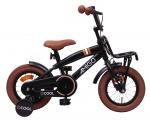 AMIGO Transportfietsen kinderen 2Cool 12 Inch 20 cm Jongens Terugtraprem Matzwart