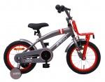 AMIGO Transportfietsen kinderen 2Cool 14 Inch 23 cm Jongens Terugtraprem Grijs