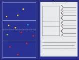 Sportec magnetisch coachbord volleybal met clip
