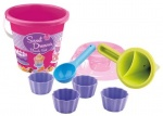 Androni cupcake speelset 8-delig roze