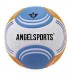 Angel sports soft touch beachvoetbal maat 5 blauw/oranje