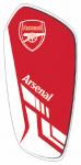 Arsenal scheenbeschermers Merchandise junior EVA rood/wit mt S
