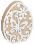 Arti Casa decoratieverlichting Ei led 18 cm hout blank
