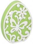 Arti Casa decoratieverlichting Ei led 18 cm hout groen