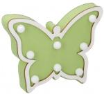 Arti Casa decoratieverlichting Vlinder led 22 cm hout groen