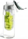 Asobu drinkfles Infuse Flavour 600 ml grijs/transparant