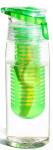 Asobu drinkfles Infuse Flavour 600 ml groen/transparant