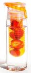 Asobu drinkfles Infuse Flavour 600 ml oranje/transparant