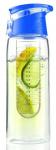 Asobu drinkfles Infuse Flavour 600 ml transparant/blauw