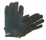 Atipick fitness-handschoenen polyester/katoen zwart maat S