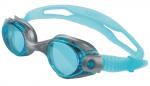 Atipick duikbril Anti-fog polycarbonaat lichtblauw one-size