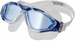 Atipick duikbril Anti-fog polycarbonaat donkerblauw one-size