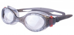 Atipick duikbril Anti-fog polycarbonaat zwart/transparant one-size