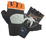 Atipick fitness-handschoenen At-Gel elastaan/katoen zwart mt L