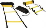 Atipick trainingsladder 6 meter zwart/geel