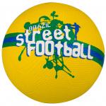 Avento straatvoetbal Brazilië rubber geel/groen/blauw maat 5