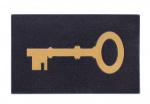 Balvi deurmat sleutel 45 x 70 cm rubber zwart