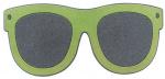 Balvi deurmat Zonnebril 75 x 34 cm rubber/nylon groen,grijs