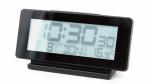 Balvi wekker digitaal multifunctioneel 16 cm zwart