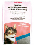 Beaphar kattenbakvulling Bogena stuifvrij 30 liter grit grijs