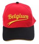 België supporterscap Belgium WK rood one size