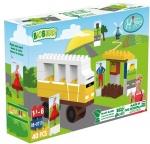 BiOBUDDi Juf Roos - de wielen van de bus 40-delig (BB-0113)