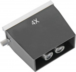 Bresser lens Biorit ICD 4x microscoop 6 x 5,5 cm zwart