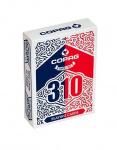 Cartamundi goochelkaarten karton rood/blauw 310 stuks