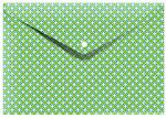 Cedon elastomap envelop 33 x 23,5 cm karton groen