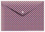 Cedon elastomap envelop 33 x 23,5 cm karton rood/blauw