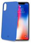 Celly backcover Shock iPhone X/XS 7,2 x 14,4 cm PVC blauw