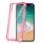 Celly beschermoes Armor iPhone X/XS roze