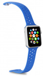 Celly horlogeband Feeling Apple Smartwatch siliconen blauw
