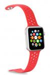 Celly horlogeband Feeling Apple Smartwatch siliconen rood