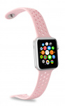 Celly horlogeband Feeling Apple Smartwatch siliconen roze