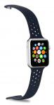 Celly horlogeband Feeling Apple Smartwatch siliconen zwart