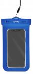 Celly telefoonhoes Procompact waterdicht 11 x 22 cm PVC blauw