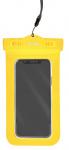 Celly telefoonhoes Procompact waterdicht 11 x 22 cm PVC geel