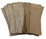 CeramicNature bananenbladeren plantaardig bruin 20 stuks