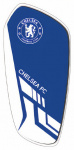 Chelsea scheenbeschermers Merchandise junior EVA blauw/wit mt S