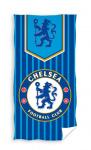 Chelsea strandlaken 70 x 140 cm katoen blauw