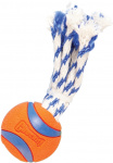 Chuckit apporteerspeelgoed Ultra Toss 6,4 cm rubber oranje