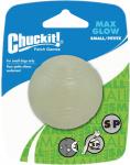 Chuckit speelbal Max Glow rubber 5 cm wit