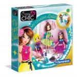 Clementoni knutselset Crazy Chic My Charm Dolls meisjes