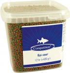 Competition vijvervisvoer Koi 1,2 liter/400 gram groen/bruin