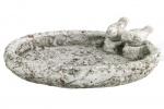 Countryfield vogelbad Terra 25 cm keramiek grijs