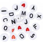 Creative letterkralen 7 mm wit 1500 stuks